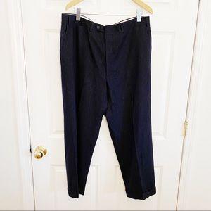 Canali Mens Pinstripe Wool Pants size Eu56